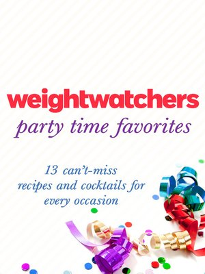 cover image of Weight Watchers Party Time Favorites