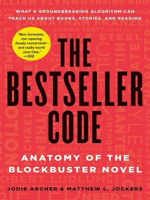 cover image of The Bestseller Code