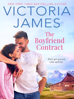 cover image of The Boyfriend Contract