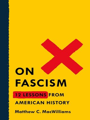 cover image of On Fascism