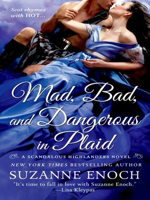 cover image of Mad, Bad, and Dangerous in Plaid