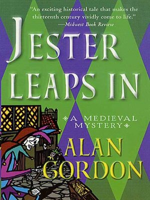 cover image of Jester Leaps In--A Fool's Guild Medieval Mystery
