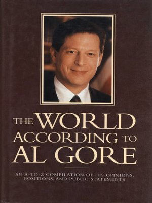 cover image of The World According to Al Gore