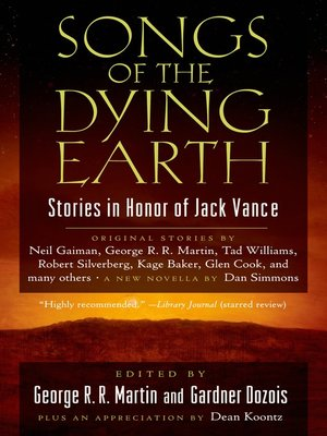 cover image of Songs of the Dying Earth
