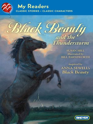 cover image of Black Beauty and the Thunderstorm