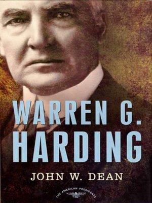 cover image of Warren G. Harding
