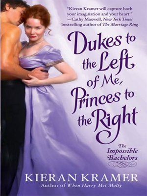 cover image of Dukes to the Left of Me, Princes to the Right