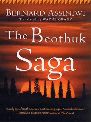cover image of The Beothuk Saga