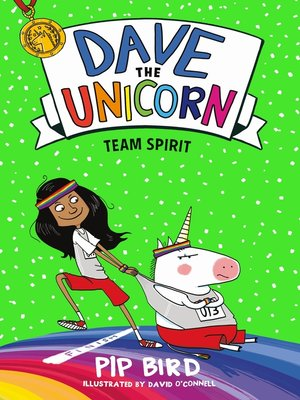 cover image of Dave the Unicorn: Team Spirit