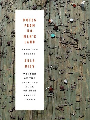 cover image of Notes from No Man's Land