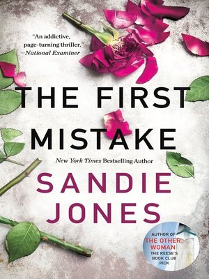 cover image of The First Mistake