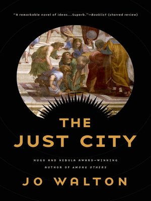 cover image of The Just City