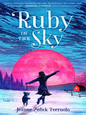 cover image of Ruby in the Sky