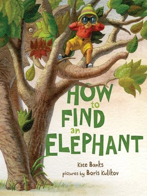 cover image of How to Find an Elephant