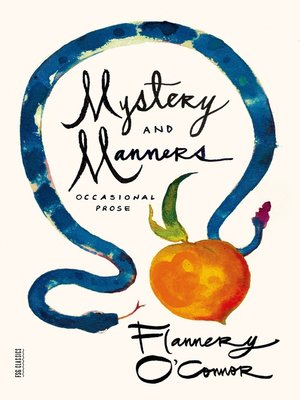 cover image of Mystery and Manners