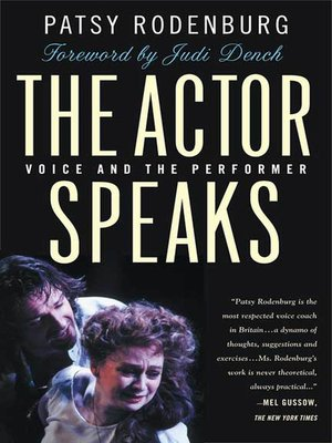 cover image of The Actor Speaks