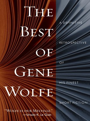 cover image of The Best of Gene Wolfe