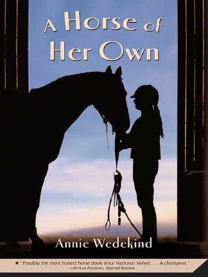 cover image of A Horse of Her Own