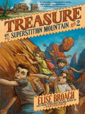 cover image of Treasure on Superstition Mountain