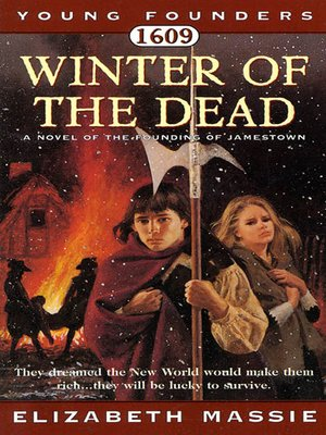 cover image of 1609, Winter of the Dead: A Novel of the Founding of Jamestown
