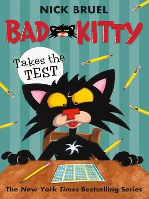 cover image of Bad Kitty Takes the Test
