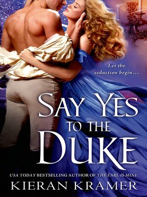 cover image of Say Yes to the Duke
