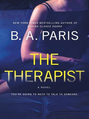 cover image of The Therapist