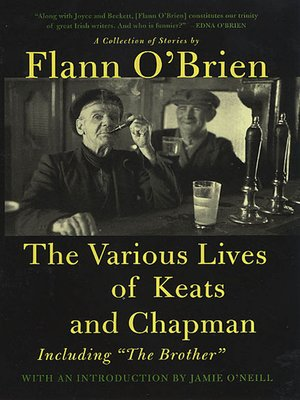 cover image of The Various Lives of Keats and Chapman