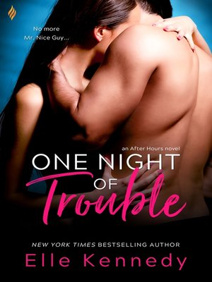 cover image of One Night of Trouble