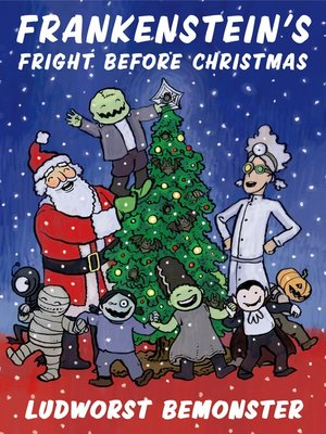 cover image of Frankenstein's Fright Before Christmas