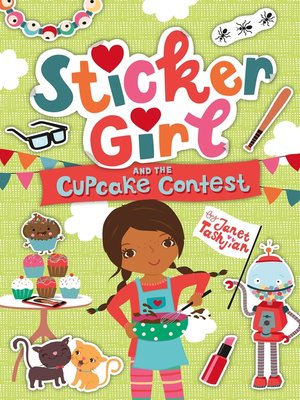 cover image of Sticker Girl and the Cupcake Challenge