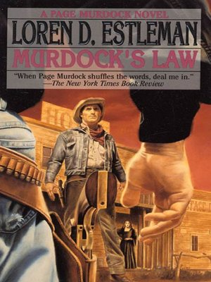 cover image of Murdock's Law--A Page Murdock Novel