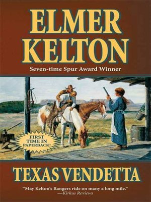 cover image of Texas Vendetta--A Story of the Texas Rangers