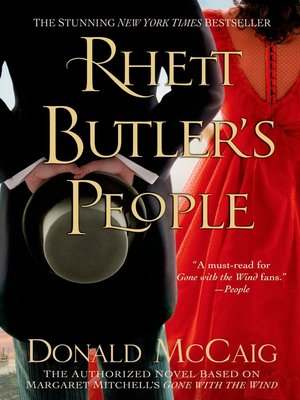 cover image of Rhett Butler's People