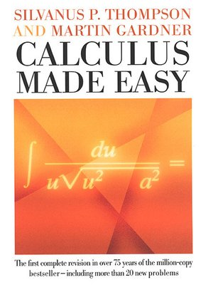 cover image of Calculus Made Easy