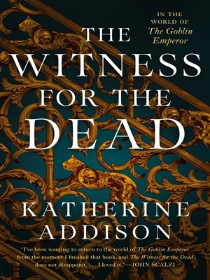 cover image of The Witness for the Dead