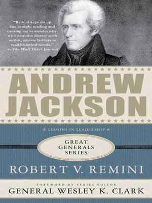 cover image of Andrew Jackson--Lessons in Leadership