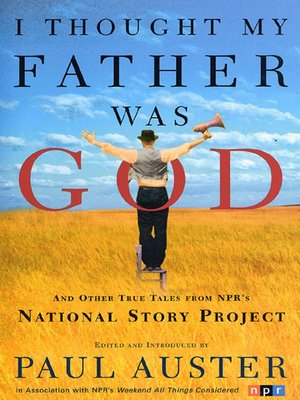 cover image of I Thought My Father Was God