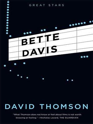 cover image of Bette Davis