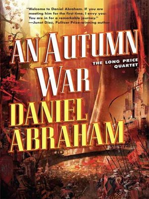 cover image of An Autumn War