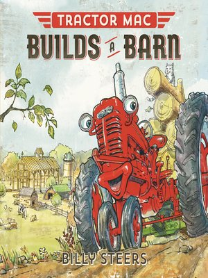 cover image of Tractor Mac Builds a Barn