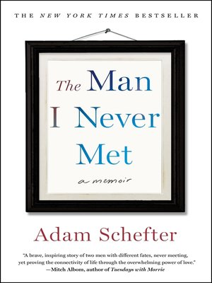 cover image of The Man I Never Met