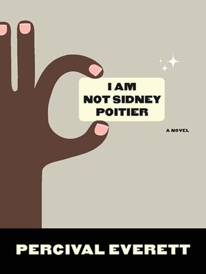 cover image of I Am Not Sidney Poitier