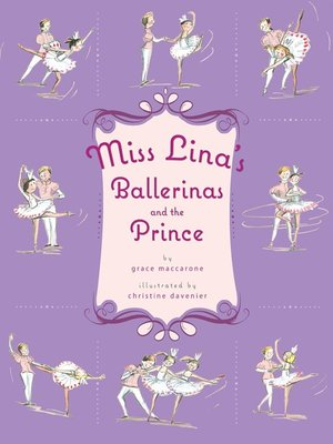 cover image of Miss Lina's Ballerinas and the Prince