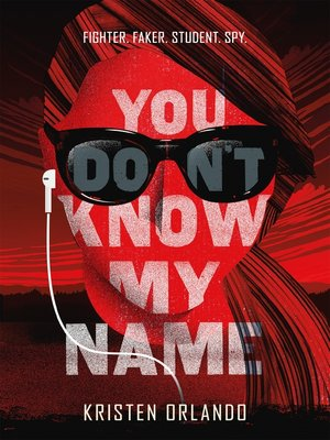 cover image of You Don't Know My Name