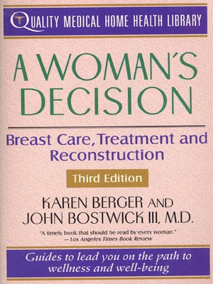 cover image of A Woman's Decision