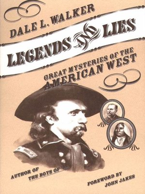 cover image of Legends and Lies