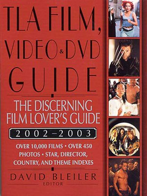 cover image of TLA Film, Video, and DVD Guide 2002-2003