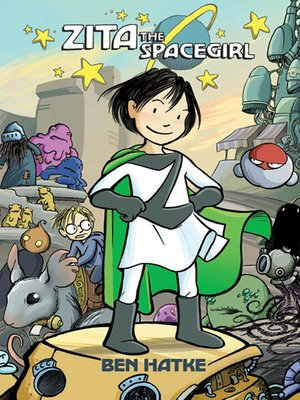 cover image of Zita the Spacegirl