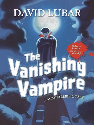 cover image of The Vanishing Vampire
